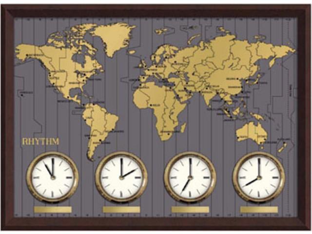 часы с мировым временем фото