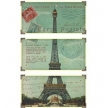 Timeworks PSETCP3  EIFFEL TOWER CARTE POSTALE